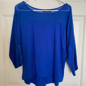 The Limited - Royal Blue Blouse